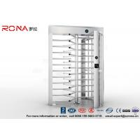 China High Security Turnstile Full Height Stainless Steel Access Control For Prison wholesale