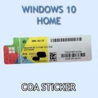 China Windows 10 Home Business COA License Sticker Genuine OEM , microsoft windows sticker wholesale