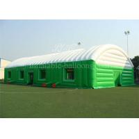China 0.55mm PVC Tarpaulin Inflatable Building Structures Outdoor Event Tent 12m Height wholesale