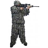 China Woodland Leafy Hunting Suit 3D Leaf Camouflage Complete Hunting Leafy Ghillie Suit wholesale
