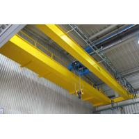 China LH Model Double Girder Travelling Overhead Crane EOT Crane with Electric Hoist Trolley wholesale