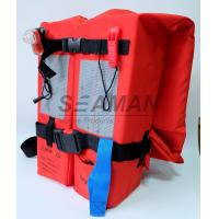 Buy cheap SOLAS / MED Approval 150N Adult Marine Life Jacket Type - I For Open Water from wholesalers