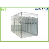 China Portable Clean Room Environment , Industrial Clean Room Clean Grade Class 100 - 100000 on sale