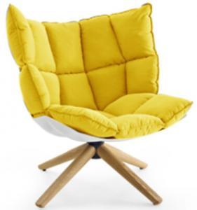 China Husk outdoor chair Husk chair in swiveling legs Fabric husk chair on sale