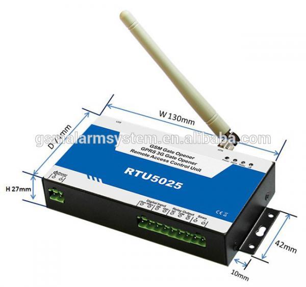 RTU5025 GPRS 3G Gate Opener Dimensions