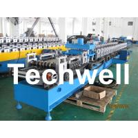 China 21KW 45# Steel Sigma Profile Roll Forming Machine With 16 Steps Forming Station wholesale