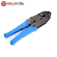 China Blue 0.25-6mm Copper Wire Tools MT 8306 , Cold Press Terminal Pliers Pin Crimping Tool wholesale
