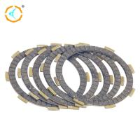 China Durable Motorcycle Clutch Parts Rubber Clutch Friction Plate For CG150 3.0mm wholesale