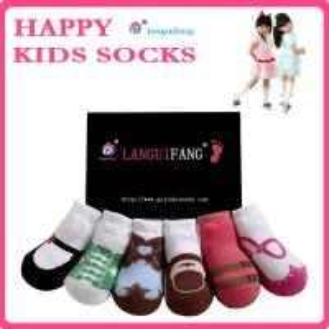 China Lovely Kids Socks Cotton Baby Socks,Anti-slip Infants Socks wholesale
