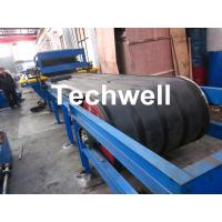 China PU Insulated Sandwich Panel Forming Machine With Double Belt Drive Type , Cooling System wholesale