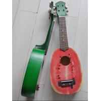 "Quality Gibson Les Paul 21"" Wooden Hawaii Guitar Ukulele Watermelon Fruit Shape AGUL07 for sale"