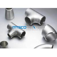 Buy cheap WP321 / 1.4541 Flanges Pipe Fittings For Connection , ASTM A403 Stainless Steel Tee from wholesalers