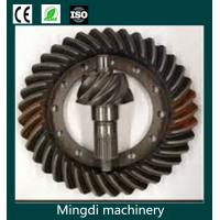 China CNC iron crown wheel and pinion for truck differential parts wholesale