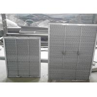 China Aluminum Range Hood Filter Frame Demister  Dry Suction Tower Wire Demister Pad Cell wholesale