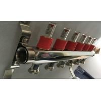 Quality House Long Flow Meter  Manifold For Underfloor Heating On Stainless Steel 304 for sale