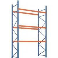 China Durable Q235B Steel Industrial Storage Rack Customized Height / Width wholesale