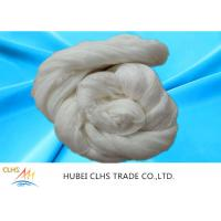 China Smooth Surface Hank Semi Dull Polyester Yarn 40 / 2 50 / 3 Good Elasticity wholesale