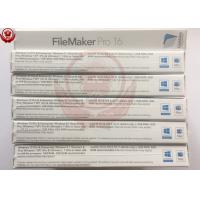 China OEM Adobe Graphic Design Software Filemaker Pro Software For Desktop / Laptop wholesale