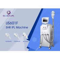 China Hair Removal SHR IPL Machine OPT 10.4 Inch Color Touch LCD Display wholesale