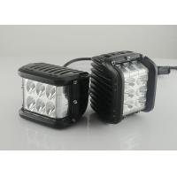 "Quality 45W 4.5"" Square Vehicle LED Work Lights 3800 Lumen , Black Housing Colors for sale"