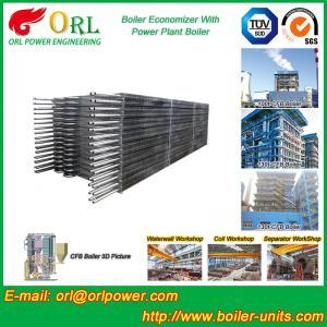 China Condensing CFB Boiler Economizer Coil / Economiser In Power Plant power plant economizer wholesale