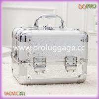 China Silver printing ABS makeup storage box on sale
