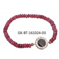 China Wholesale & low MOQ 925 sterling silver jewellery agate beads bracelet for female , girls wholesale