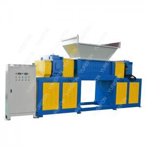 China Cardboard Carton Paper Shredder Machine High Throughput Rate With Two Shaft wholesale
