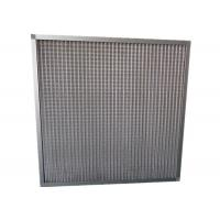 China MERV 11 Household Portable Mesh Panel Air Filter Pre Filter With Aluminum Frame wholesale