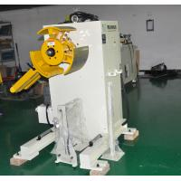 Buy cheap Sheet Metal Uncoiling Machine 0.1-1.6mm Automatic Machine For Stamping Feeding Line from wholesalers