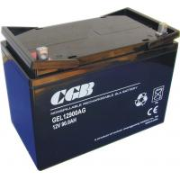 China 12V 90Ah Sealed Deep Cycle Marine Battery , Vrla Deep Cycle Battery wholesale