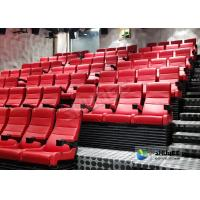 China Novelty Muti - Dimensional 4D Interactive Movie Theater With SOR Crank System wholesale