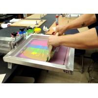 China High Precision Silk Screen Aluminum Frame For Printing Silver Color Light Weight wholesale