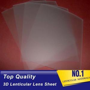 China 161 lpi lenticular lens film 0.25mm pet 3d sheet lenticular lenses materical for 3d lenticular printing service on sale