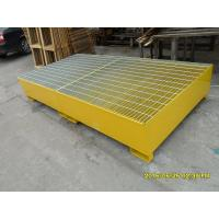 IBC Steel Steel Spill Tray Fork Guides Providing 100mm Clearance Height