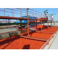 China High Efficiency Tomato Processing Line / Tomato Sauce Production Line on sale