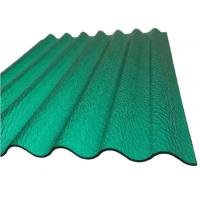 China PC Corrugated Plastic Greenhouse PanelsOpaque Corrugated Roofing Sheetsfor Building on sale