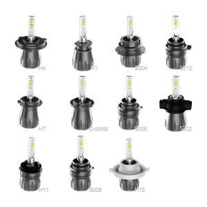 Quality S7 led headlight 40W 4800 lm ETI-7375 chip car led headlight H7 led bulb for sale