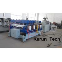 China Twin Screw Automatic Color Upvc Profile Extrusion Line / Wpc Extrusion Machine wholesale