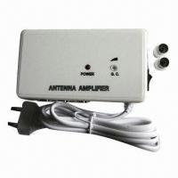 China Antenna/CATV Indoor Amplifier, 47 to 862MHz Frequency Range wholesale
