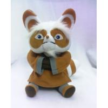 China Small Cartoon Plush Toys Kungfu Panda Master Shifu in Sitting Pose wholesale