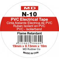 China MD PVC Electrical Insulation Tape 0.13mm×19mm×10yds Acid-proof Alkali wholesale