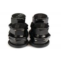 China Black Chrome Valve Stem Caps , Car Tyre Valve Caps For Electric Vehicle wholesale