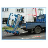Quality Window Cleaning Operate Elevated Work Platforms , 8 Meter Height Vertical Mast for sale