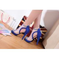 China New arrival US nightclub ultra-high with diamond waterproof breathable female sandals wholesale