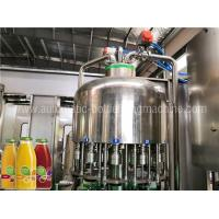 China Automatic Juice Flavor Water Filling Machine , Water Bottling Equipment / Line wholesale