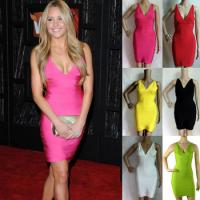 China Wholesale Celebrity High Quality New Design Hot Sale Popular Sexy HL Bandage Summer Dress wholesale