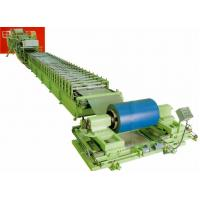 China discontinuous aluminum / PU Steel roof sandwich panel roll forming machinery wholesale