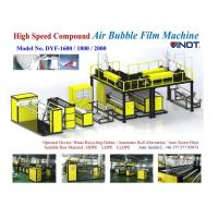 China 1200 - 2000mm Width PE Air Bubble Film Machine With Back Unwinder Station - air bubble film making machine sales wholesale