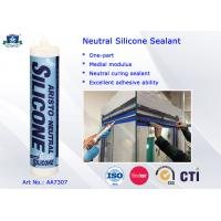 China One Part Neutral Clear or Coloured Silicon Sealant -40 to 100 ℃ High Performance on sale